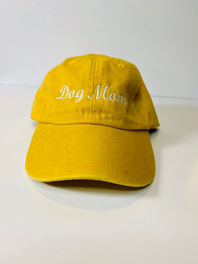 Dog Mom Hat -  Sunshine