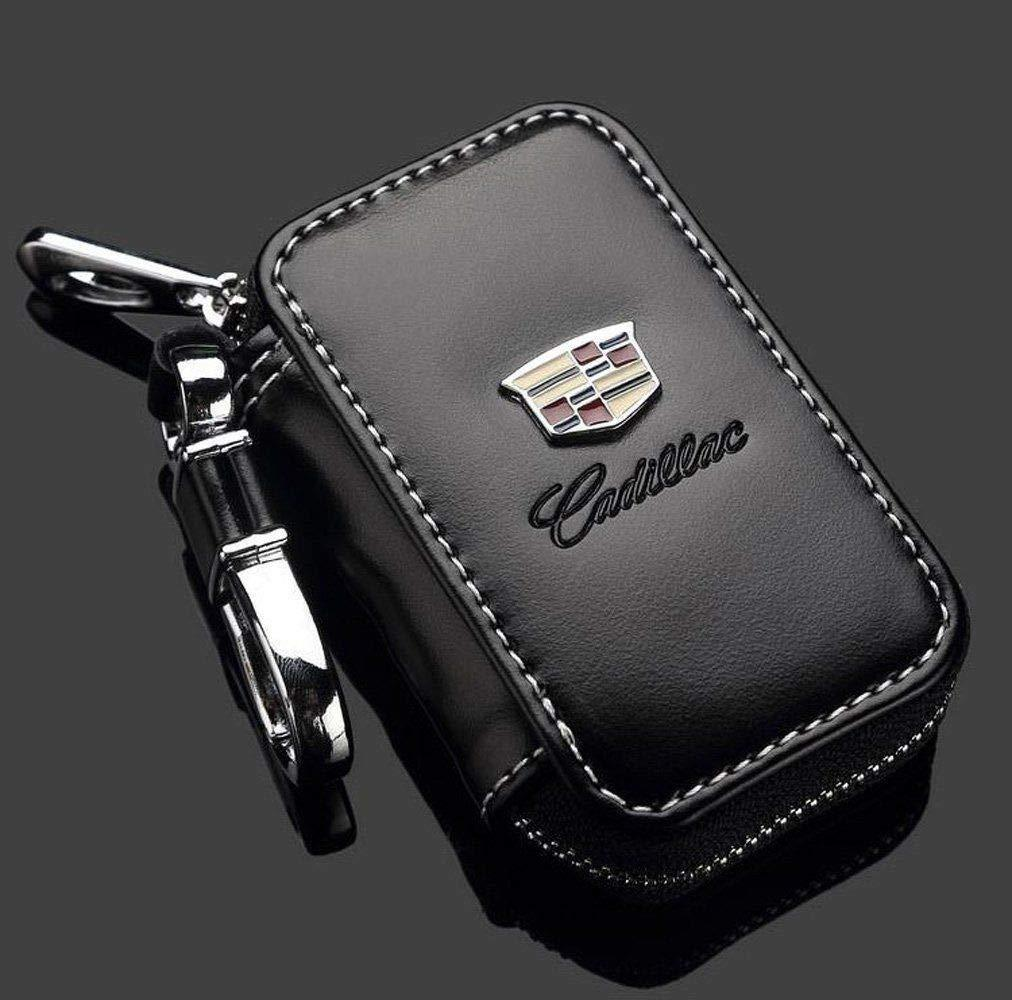 Car Key case,Genuine Leather Car Smart Key (Key Fob Cover for car)