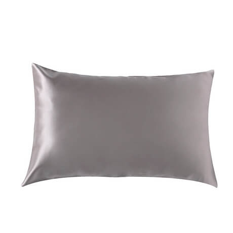 100% Mulberry Silk Pillowcases 22 Momme Extra Shine Heavy Weight Silver