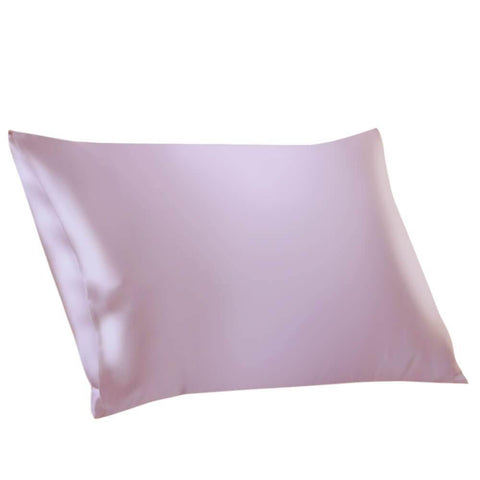 Vshine Silk and Shine 100% Mulberry Silk Pillowcases Envelope Cherry Pink