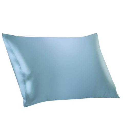 100% Mulberry Silk Pillowcases Envelope Sky Blue