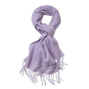Cashmere Scarf Lilac