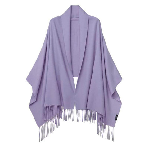 Vshine Silk and Shine Cashmere Shawl Lilac