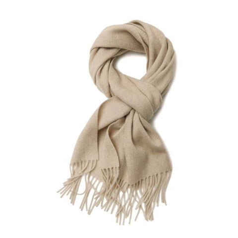 Cashmere Scarf Natural