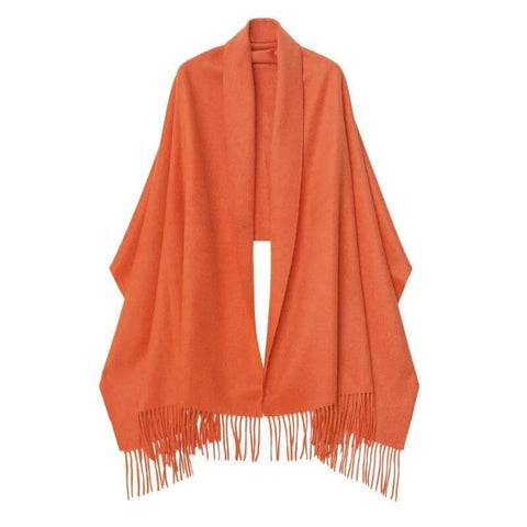 Cashmere Shawl Orange
