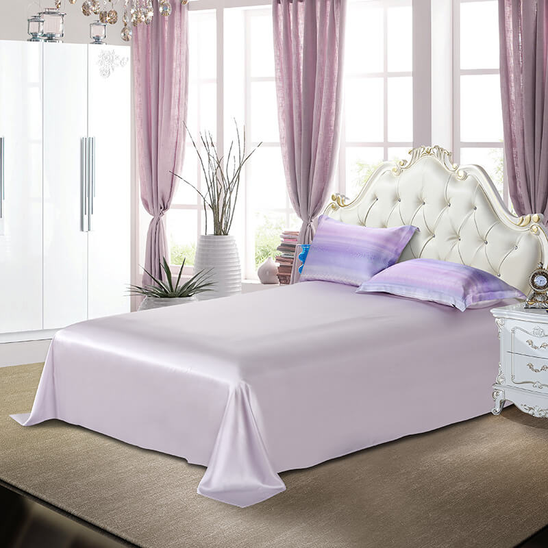 Luxury Silk and Shine Bedding Set Pure Lux Rainbow