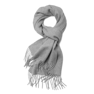 Cashmere Scarf Silver