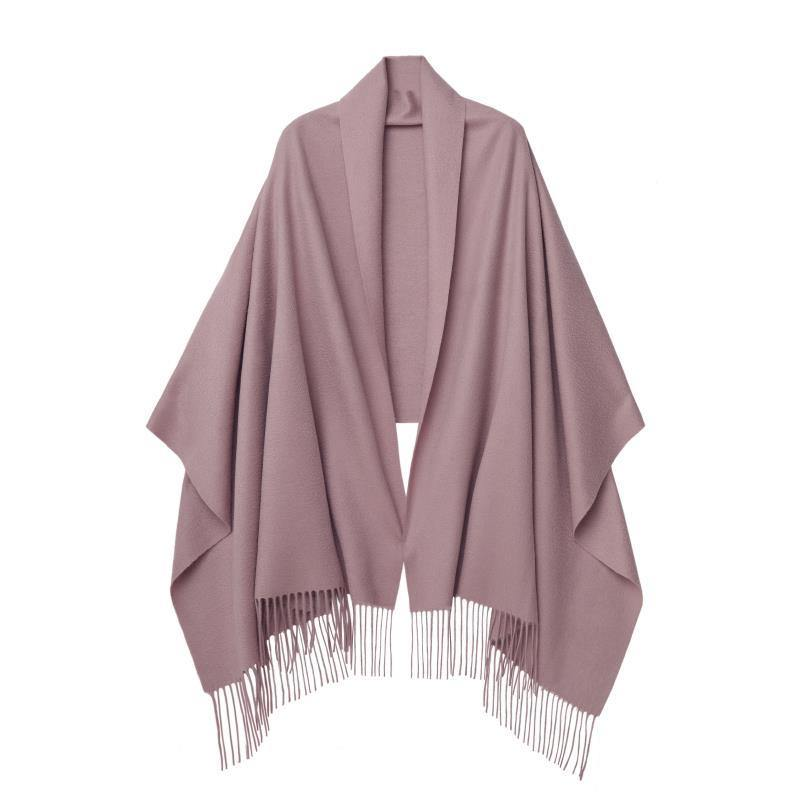Cashmere Shawl Silver Pink