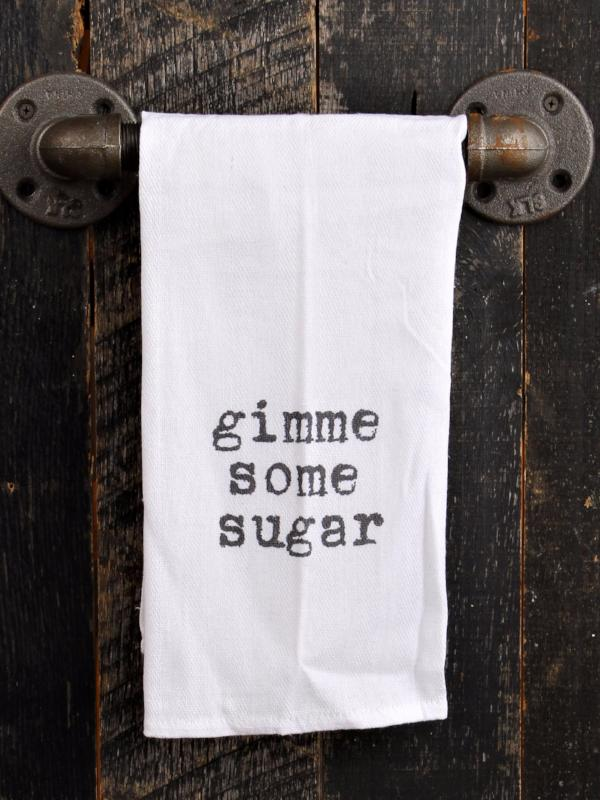 Gimme Some Sugar Kitchen Towel