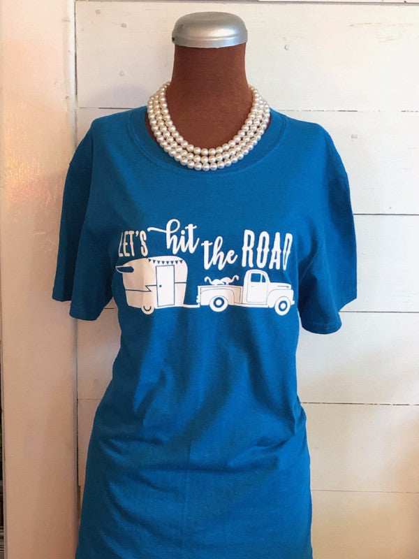 Let's Hit the Road Tee