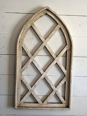 Large Wood Chapel Window