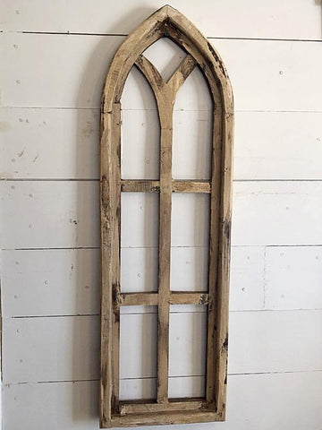 Tall Wood Chapel Window