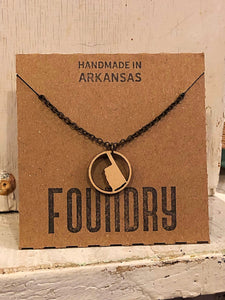 Oklahoma Ring Pendant Necklace