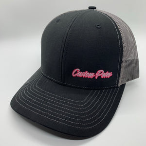 Custom Petes PINK Trucker Hat