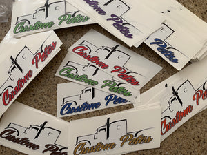Silhouette Logo Sticker Pack (4 Misc Bundle)