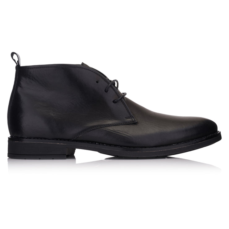 ghete business negre piele Omnio Chukka Batavia imagine din lateral