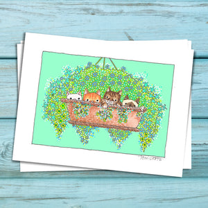 Basket Case Kittens Fine Art Print