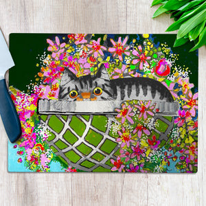 Tabby's Bolthole Chopping Board