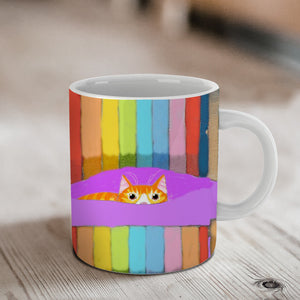 Ginger's Deckchair Stare Ceramic Mug