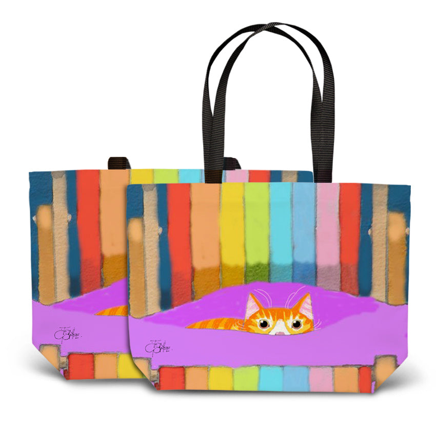 Ginger's Deckchair Stare Tote Bag