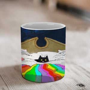 Last One Up Ceramic Mug