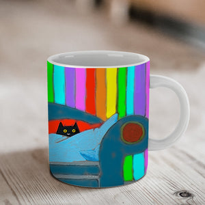 Our Couch Ceramic Mug