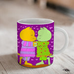 Our First Kiss Ceramic Mug