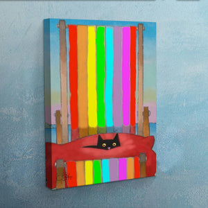 Rainbow Rest Canvas