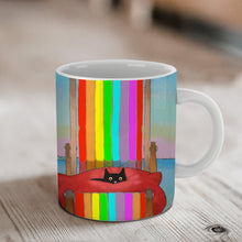 Load image into Gallery viewer, Rainbow Rest Ceramic Mug