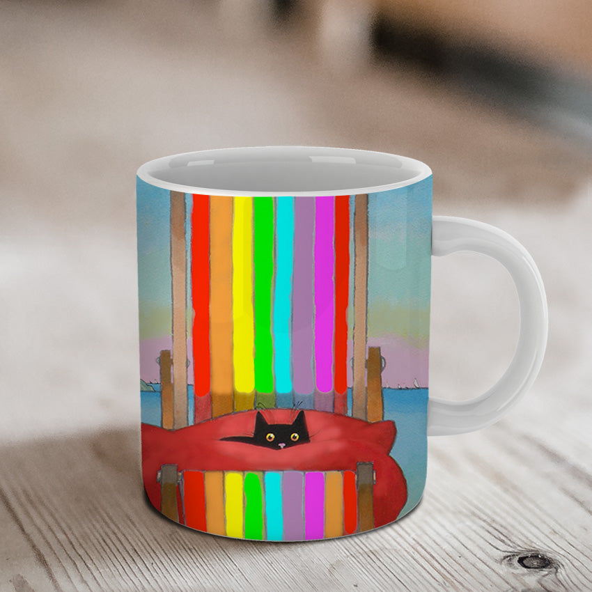 Rainbow Rest Ceramic Mug