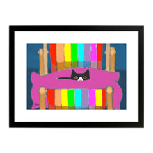 Load image into Gallery viewer, Deckchair Stare - Art Print