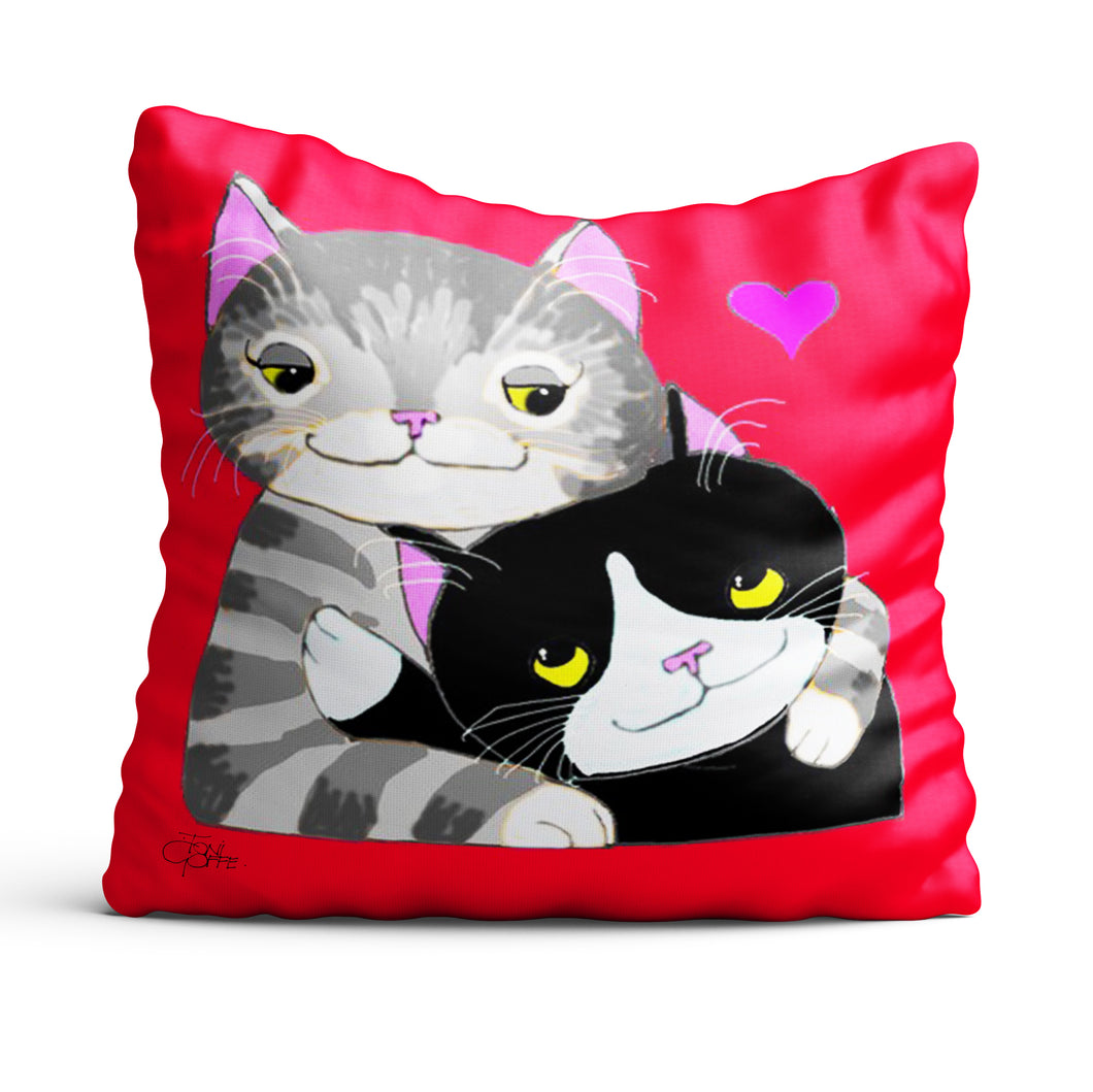 My Tabby Love Cushion