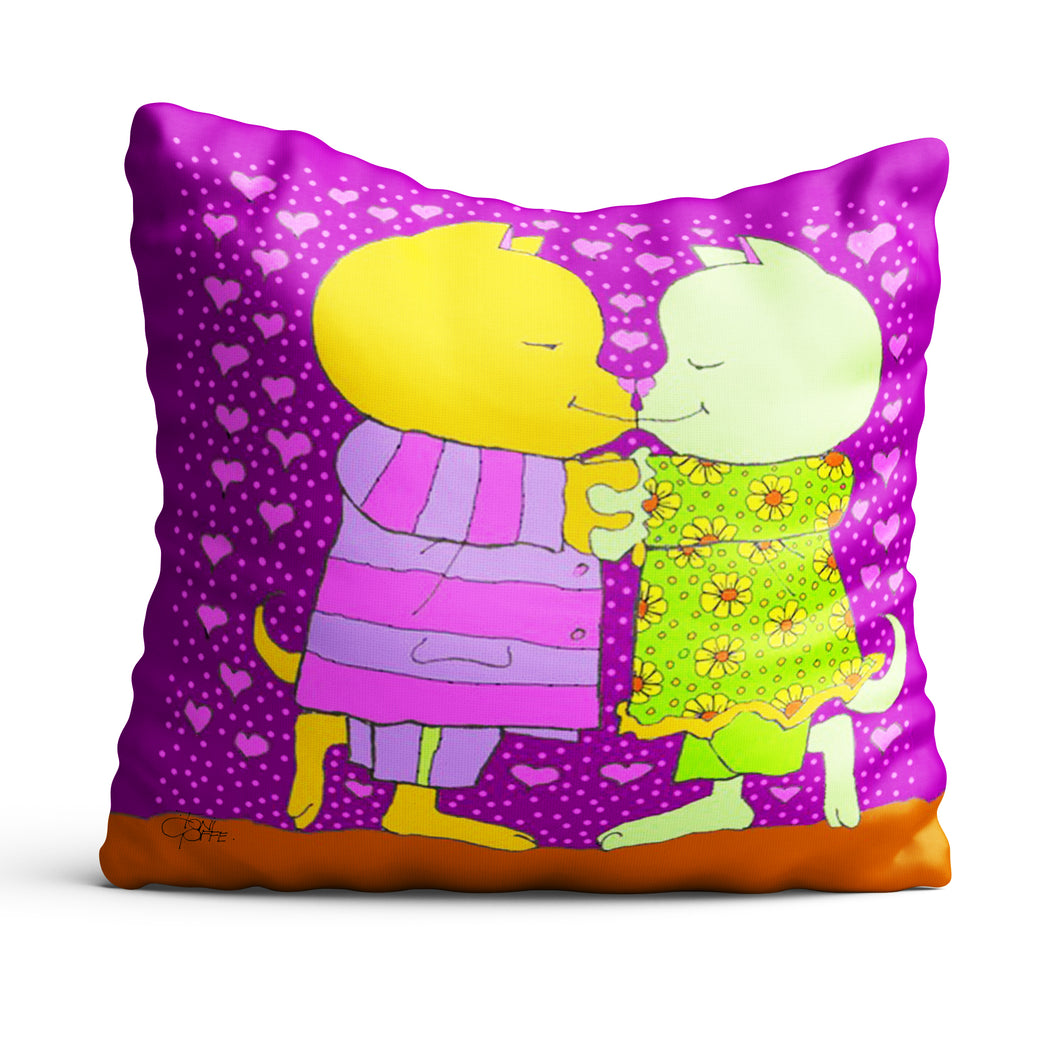 Our First Kiss Cushion