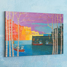 Load image into Gallery viewer, Cornish Harbour Canvas