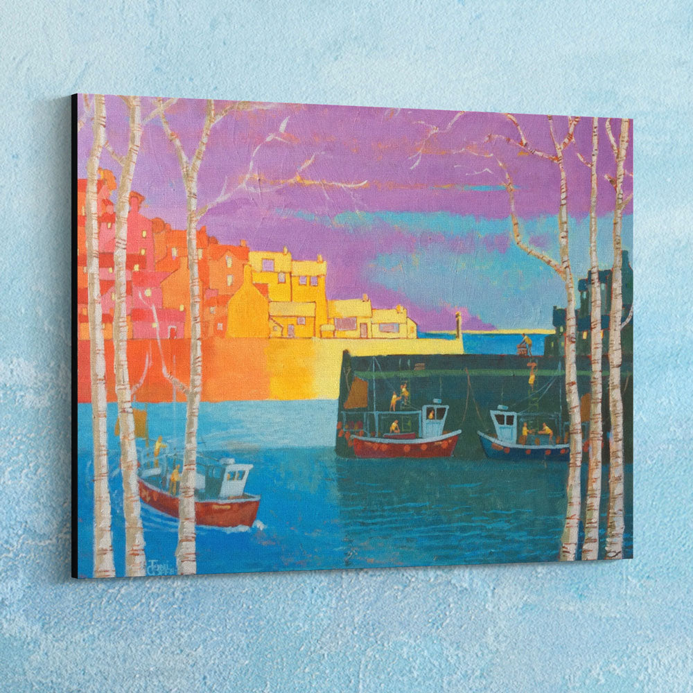 Cornish Harbour Canvas