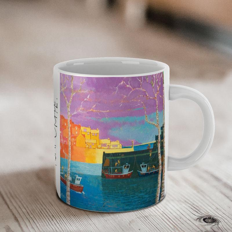 Cornish Harbour Mug