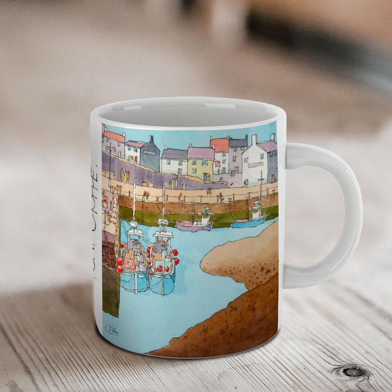 Silted Harbour Mug