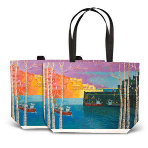 Cornish Harbour Tote Bag