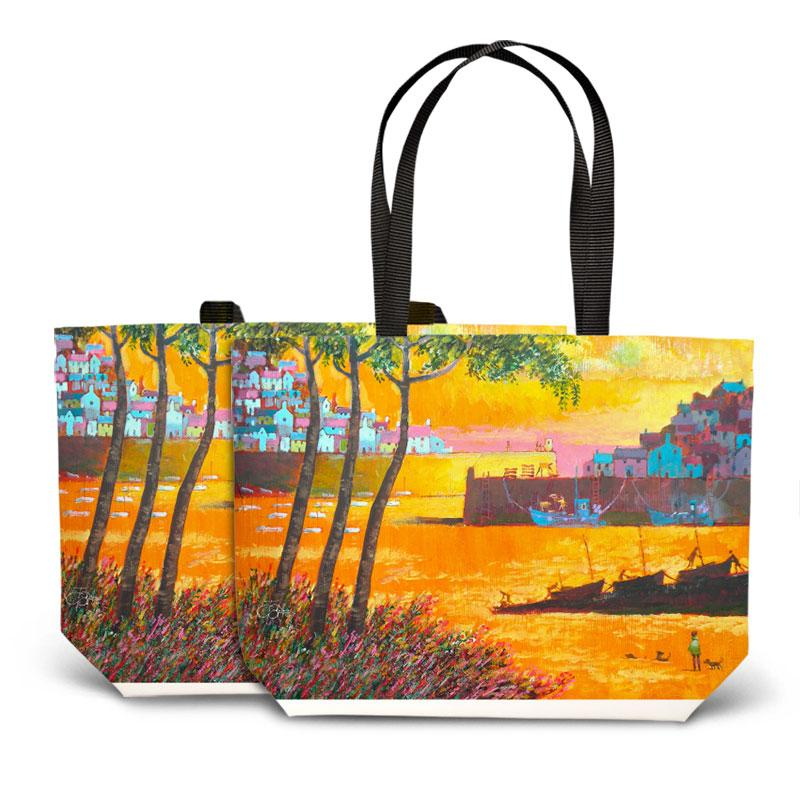 Cornish Morning Tote Bag