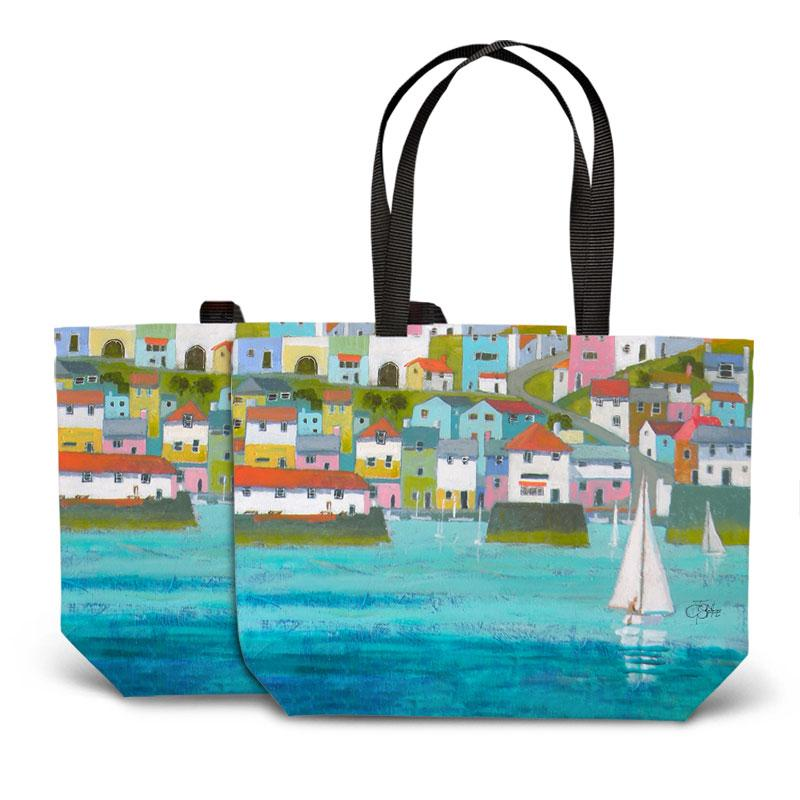 Cornish Port Tote Bag