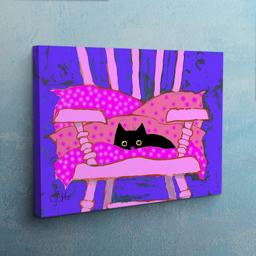 The Cat's Chair Canvas