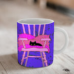 The Cat's Chair Ceramic Mug
