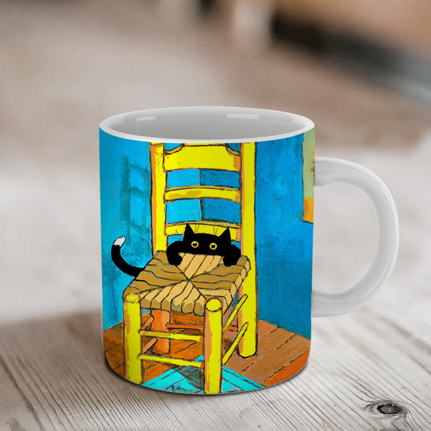 Vincent's New Cat Ceramic Mug