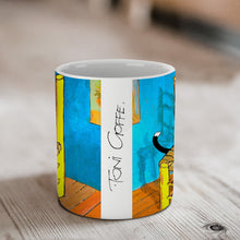 Load image into Gallery viewer, Vincent's New Cat Ceramic Mug