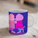 It Started With A Kiss Ceramic Mug