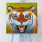 'Tiger Snarl' Original Painting