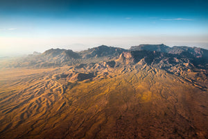 The Chisos at Dawn