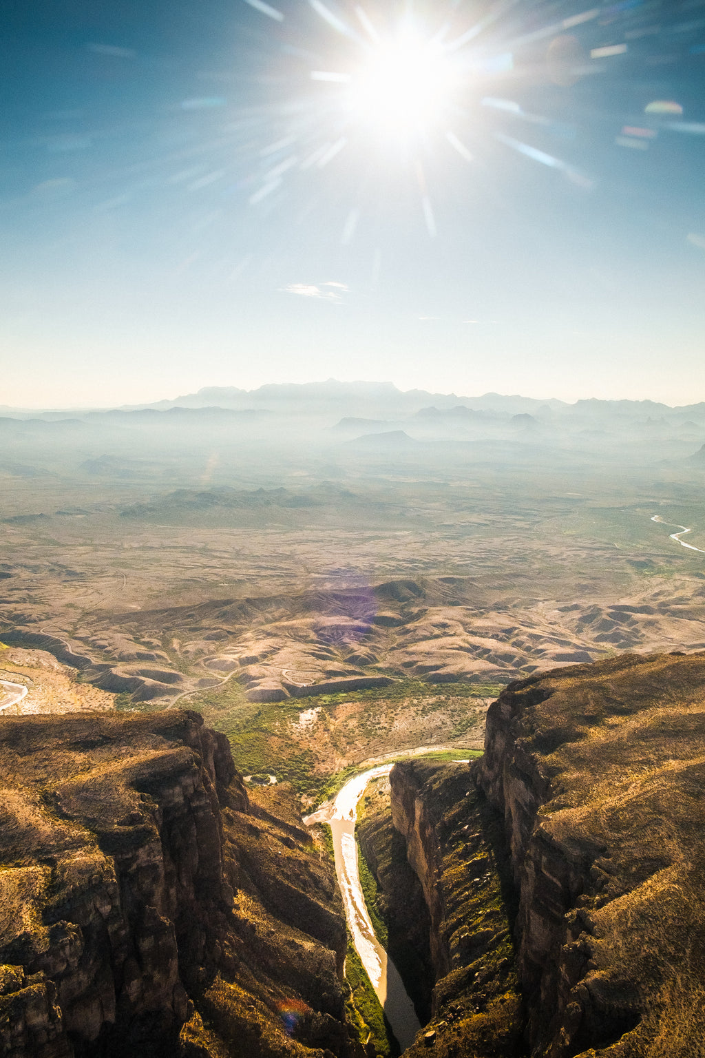 Flight over Santa Elena Canyon