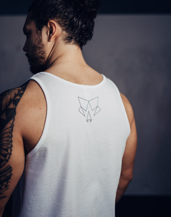 Origin Mens White Tank Top