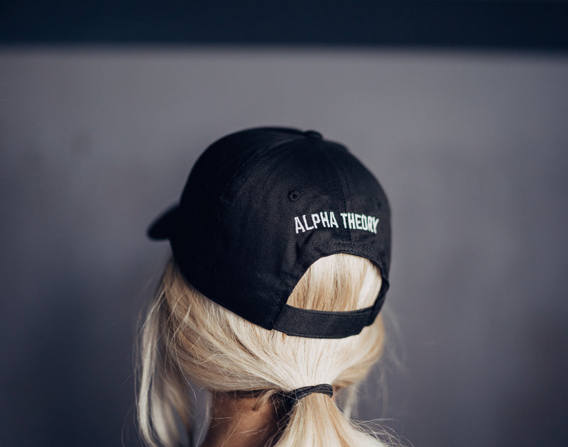 Black Embroidered logo Hat